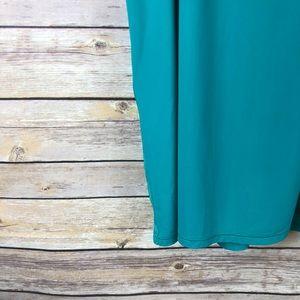 lululemon athletica Tops - Lululemon Viridian Green Two in One Singlet Tank